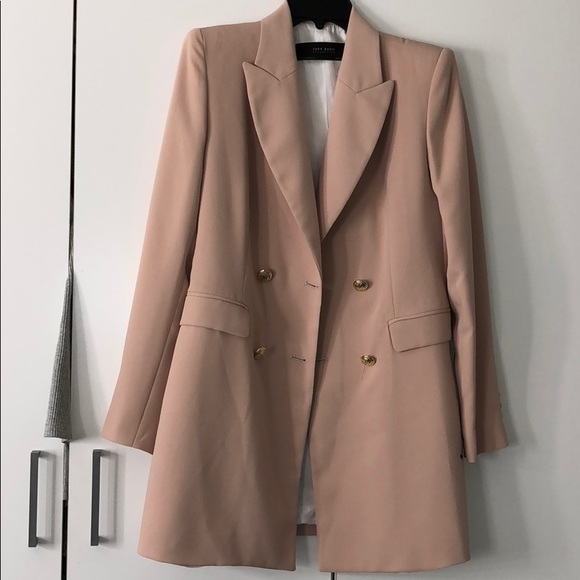 Zara Frock Coat Dress